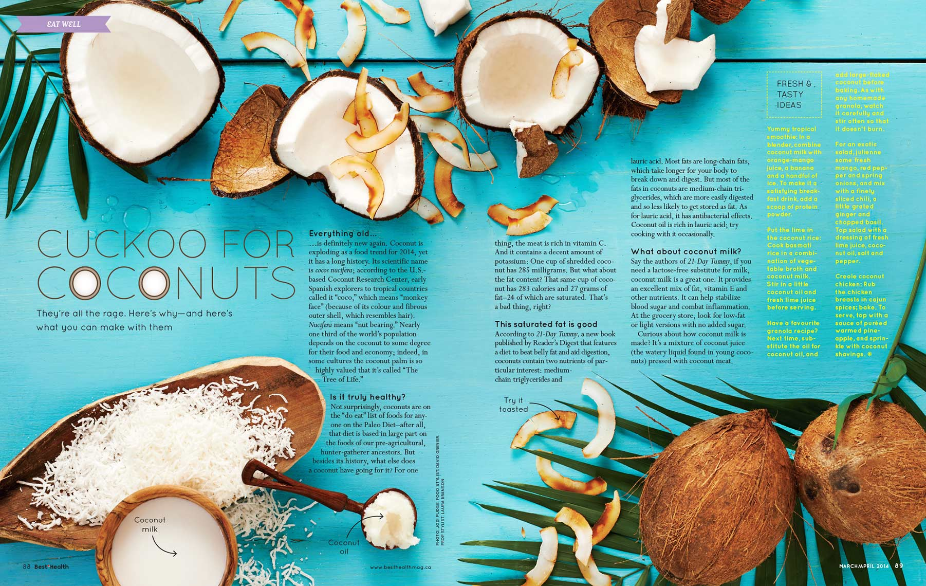 Best Health Coconuts