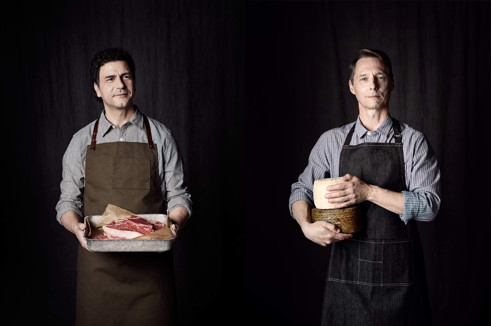 Butcher & Cheesemaker Portraits