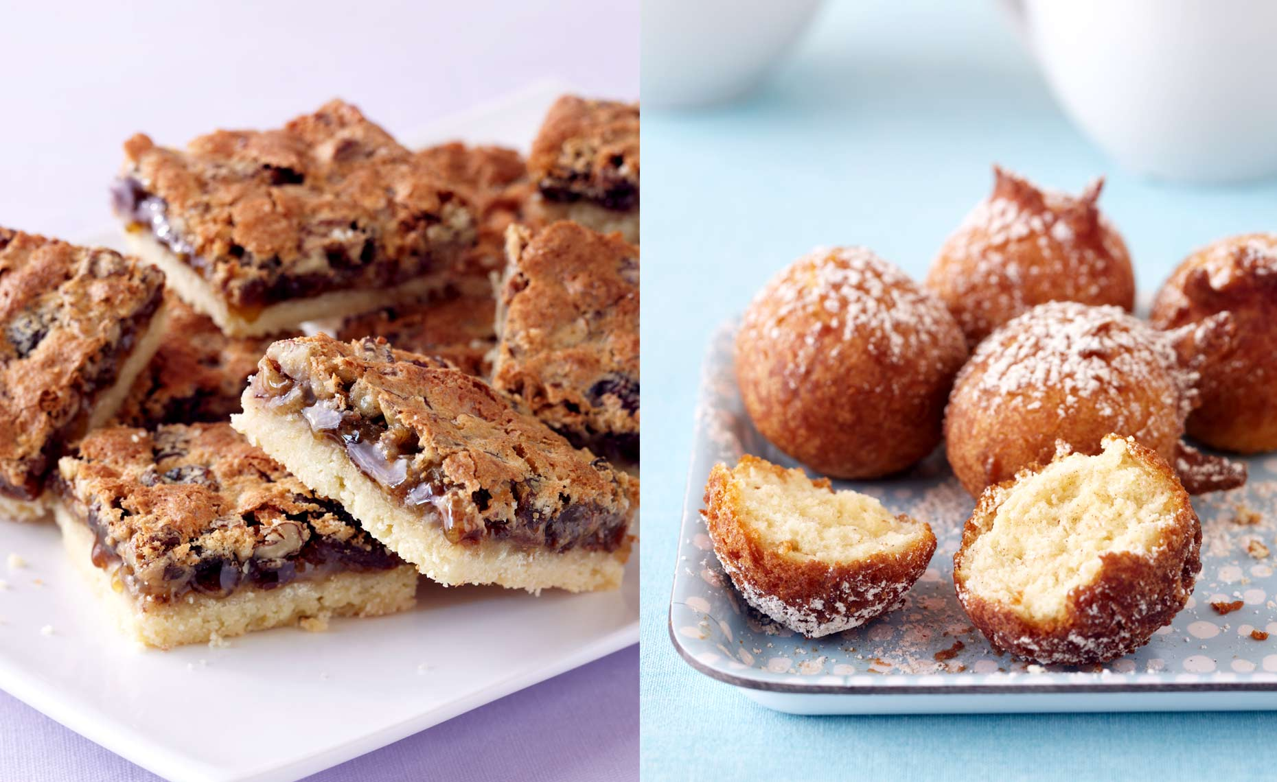 Buttertart Squares & Donuts