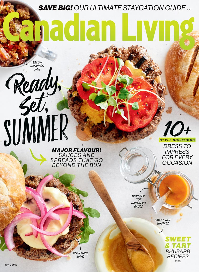 Canadian Living June 2016 Cover