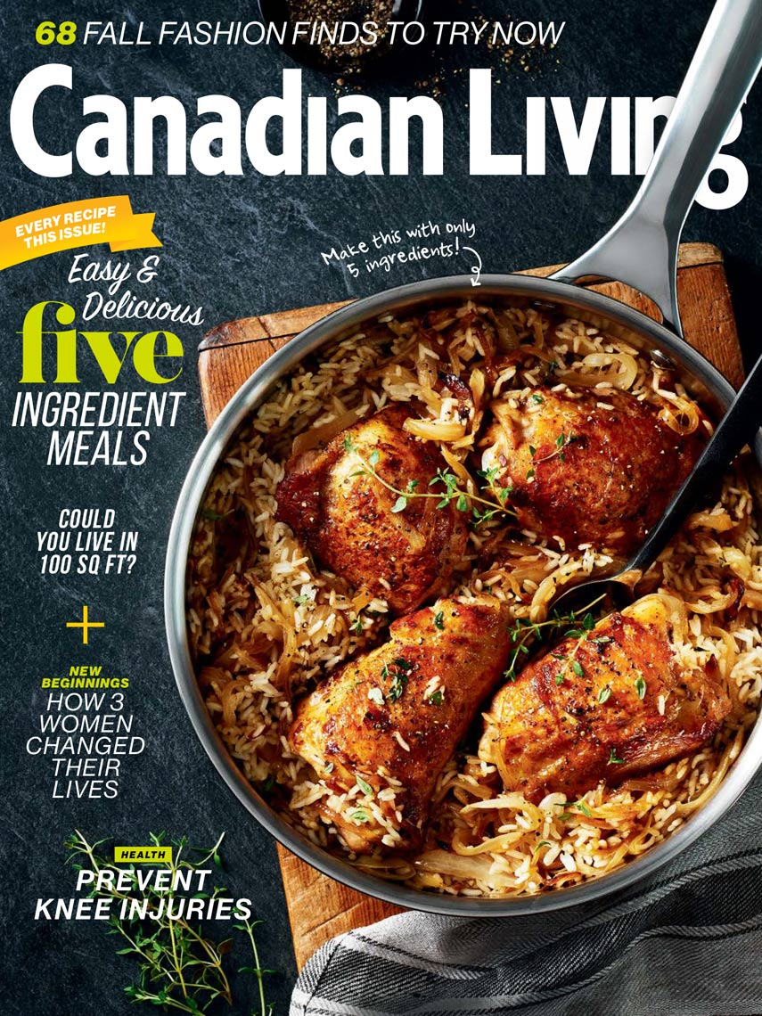 Canadian Living Sept 2016 Cover