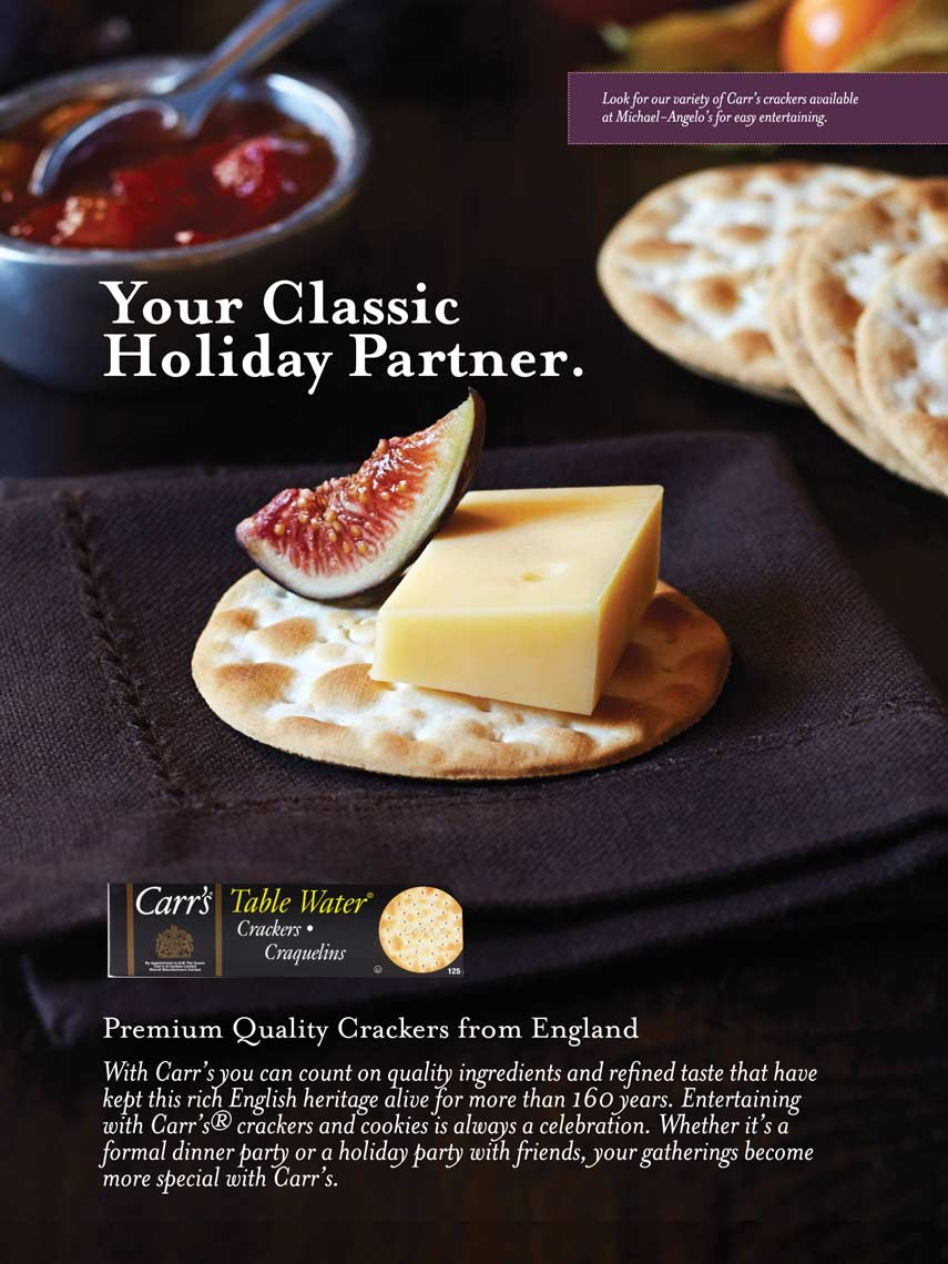 Carrs Water Crackers Ad
