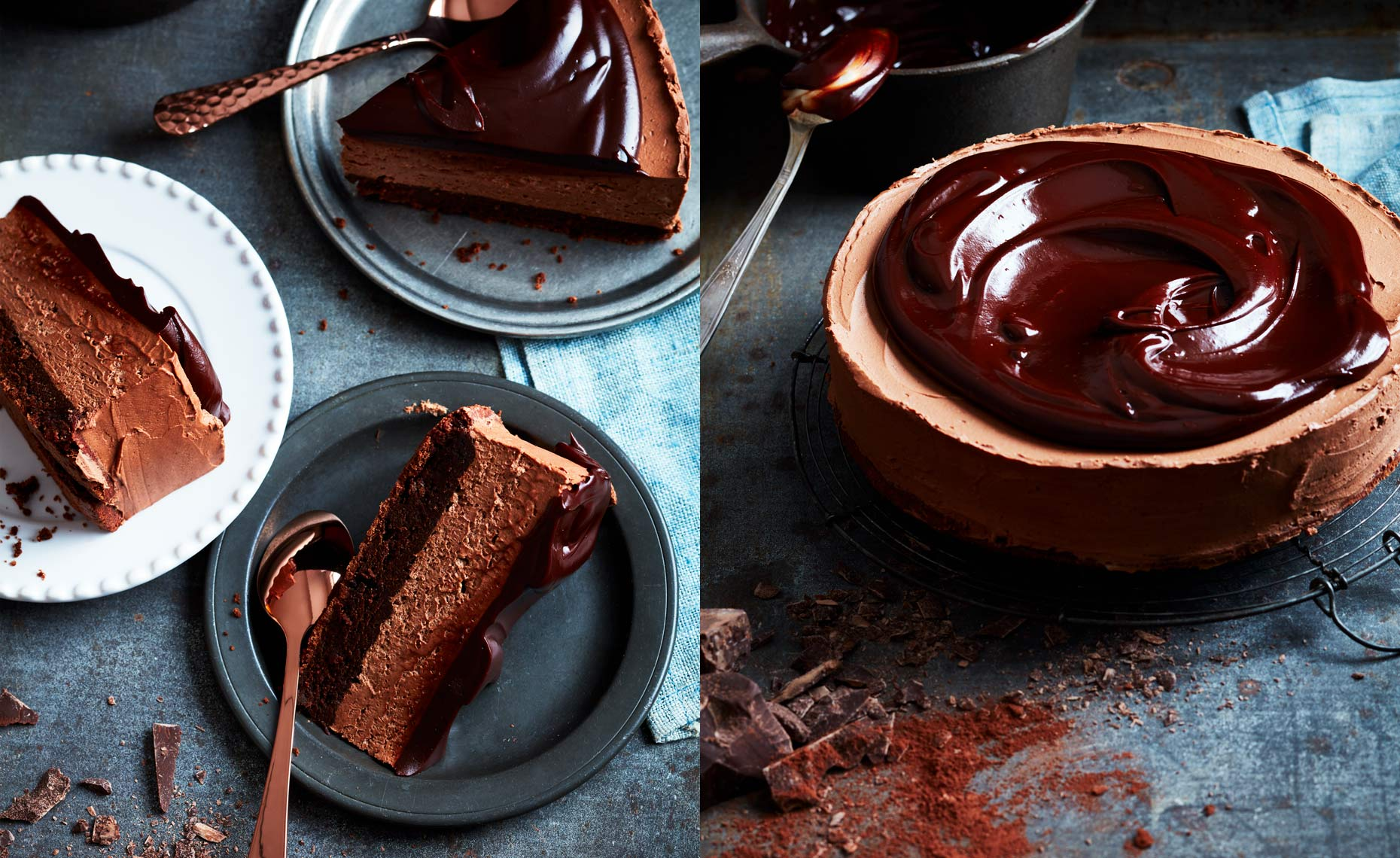 Chocolate Mousse Cake DPS