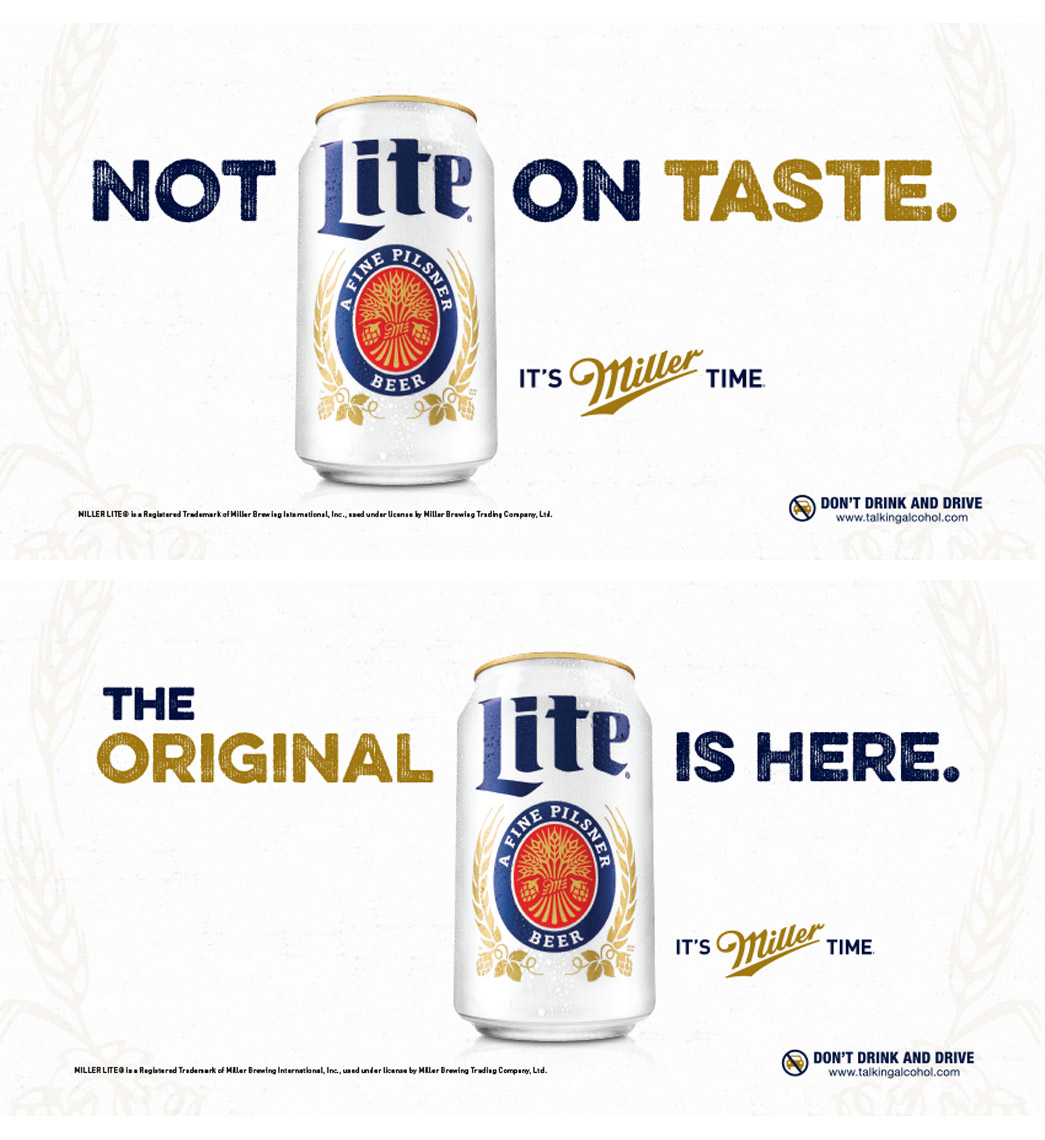 Miller Lite Canada Billboards