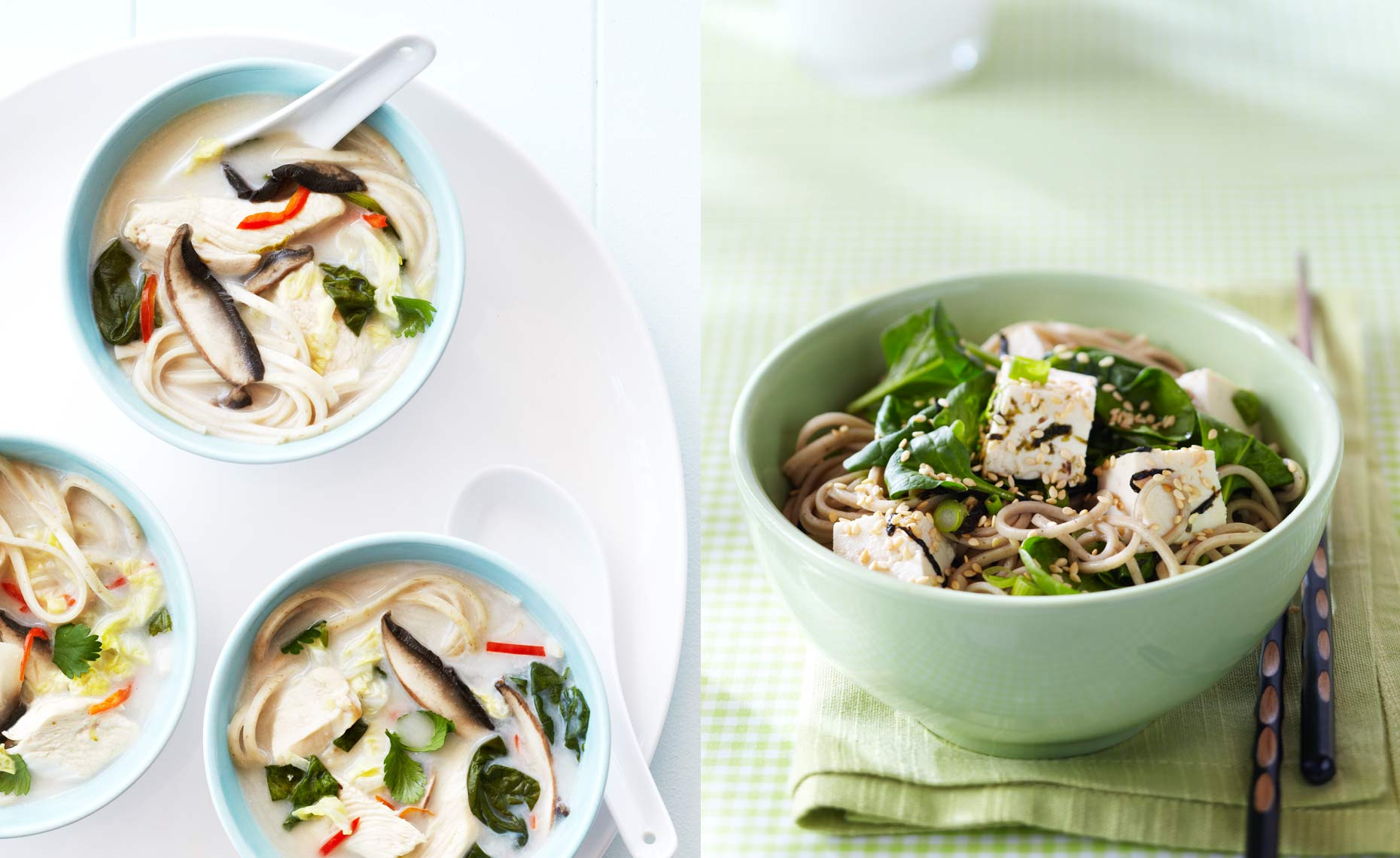 Coconut Soup & Soba Noodles